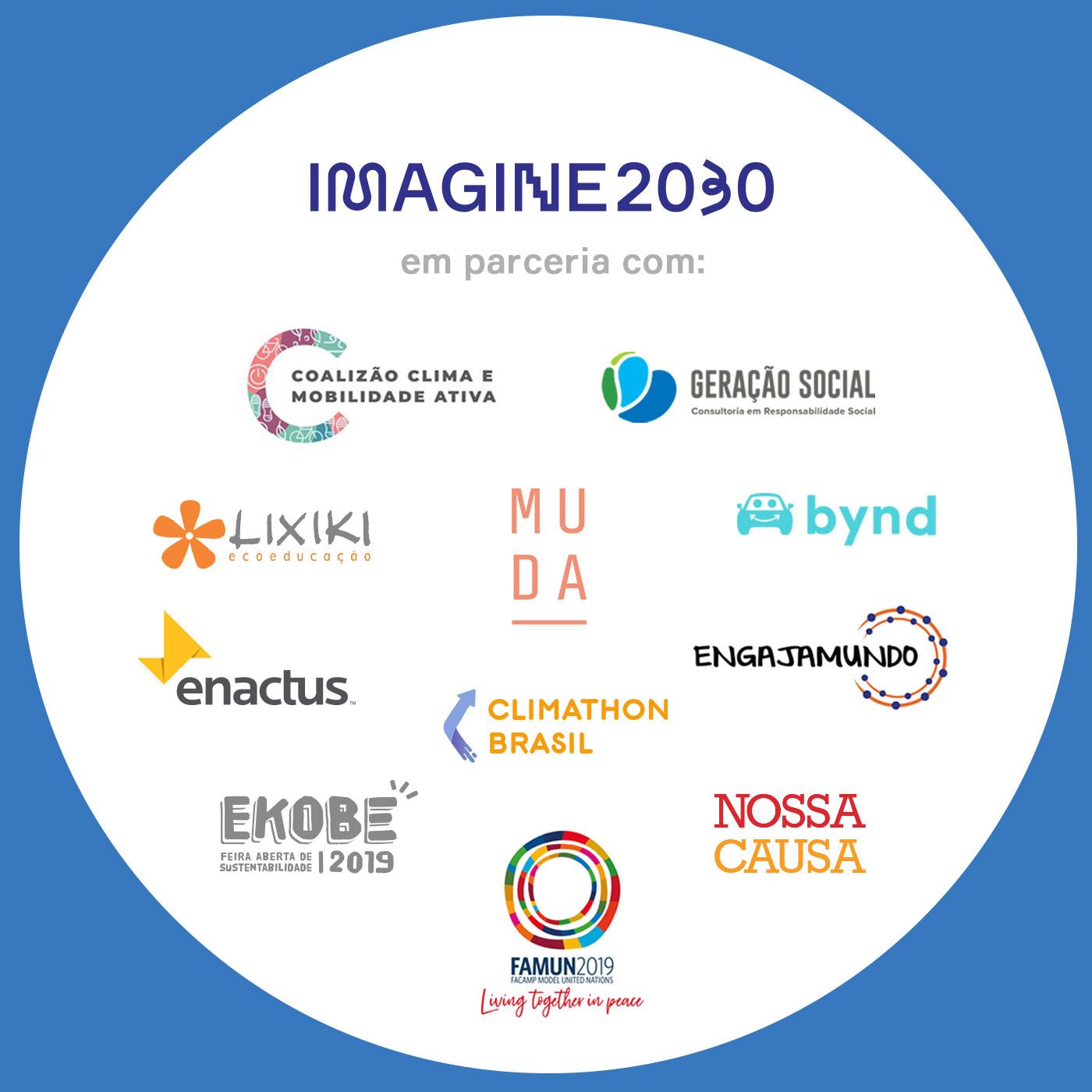Mobilização pelo Clima, Imagine 2030, parceiros, LIXIKI