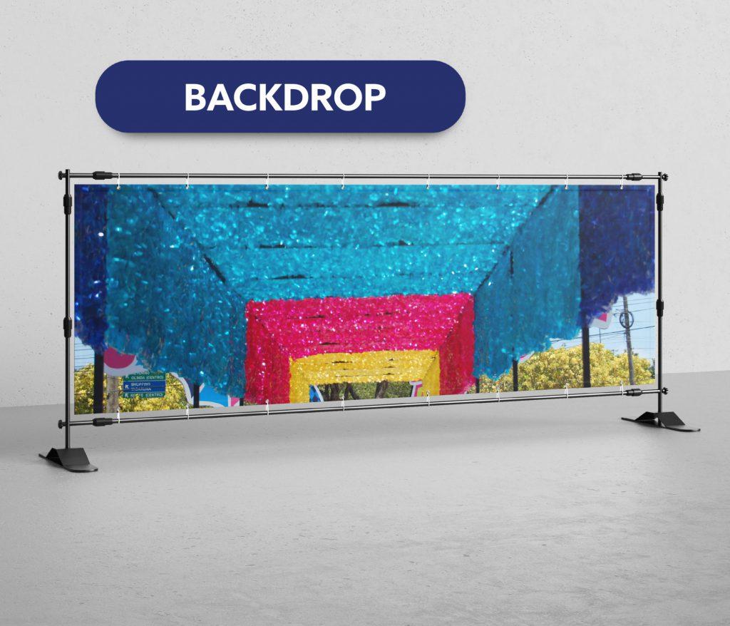 lona de backdrop reciclagem reutilização upcycling produtos