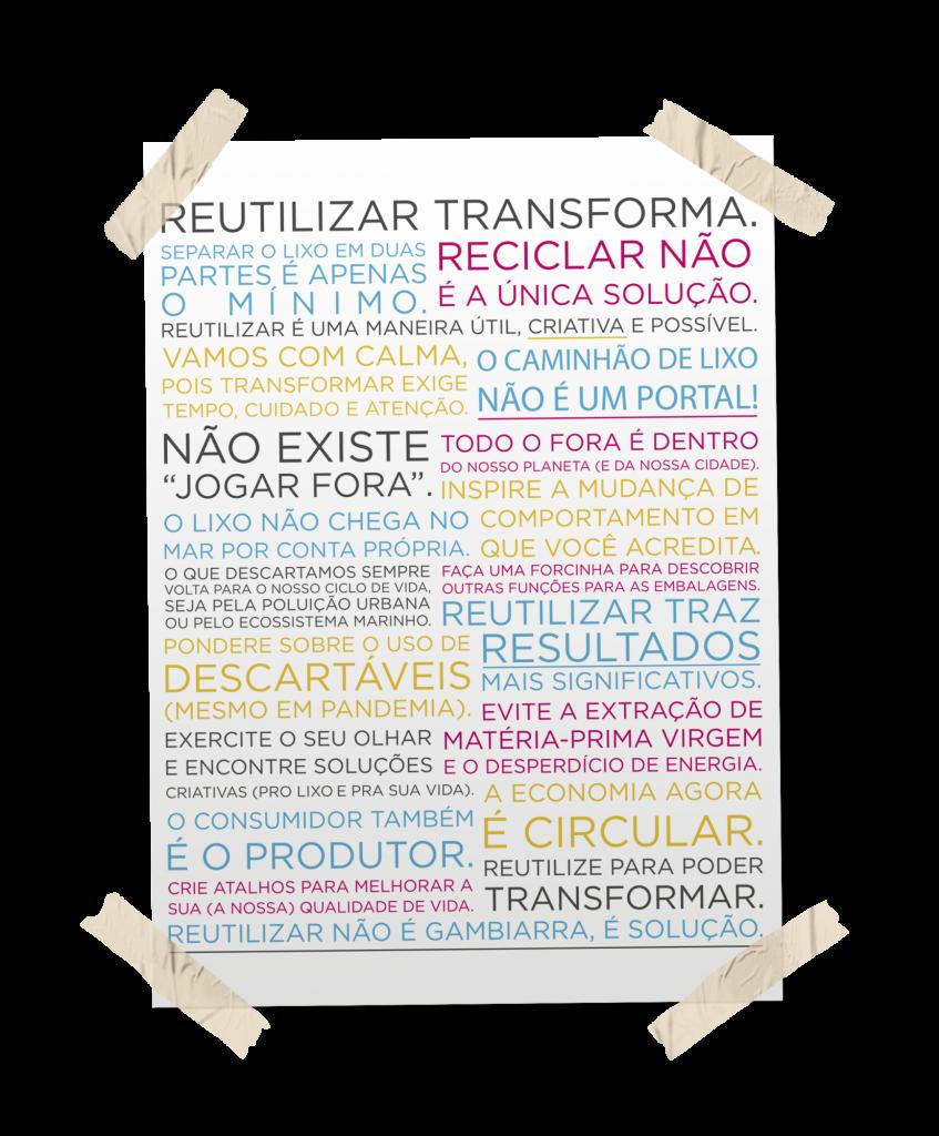 manifesto reutilizar transforma